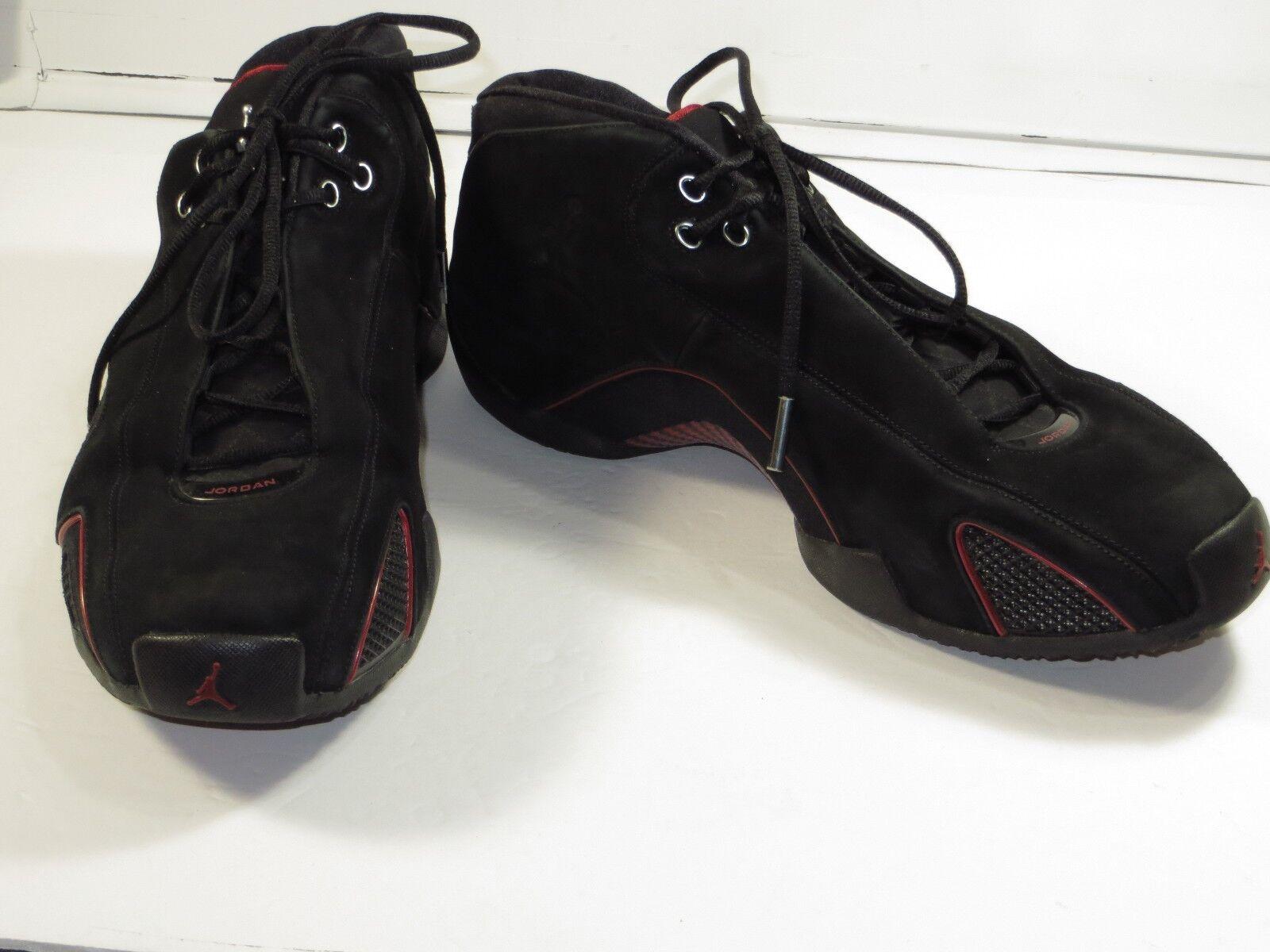 GR8Mens 313529-002 Nike  Air Jordan XXI Low 15 Black/Red  Nike Basketball Shoes155 f79f1b