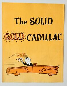 Program The Solid Gold Cadillac 1965 Ann Sothern Kenley Players Columbus Ohio