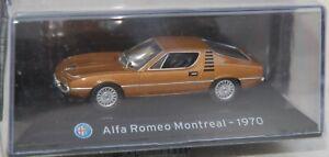 1:43 SuperCars Collection Alfa Romeo Montreal 1970