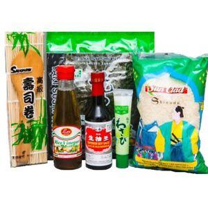Angebot-Sushi-Starter-Set-6-teilig-GRATIS-Reisloeffel-Wasabi-Nori-Sushimatte