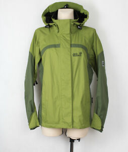 detailed look 729b0 e972d JACK WOLFSKIN TEXAPORE DAMEN RAINCOAT REGEN JACKE MANTEL ...