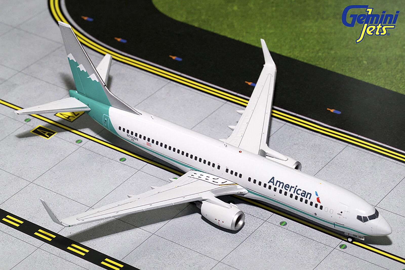 Gemini200 amerikanische boeing 737 - 800 g2aal703 1   200, reg   n916nn.neue