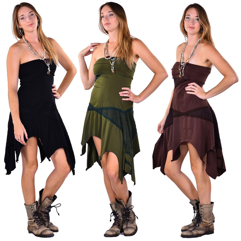 Elfen pixie-kleid, Fest PSY TRANCE GOA FAE Gotischer Punk Kleid Plus Größe Kleid