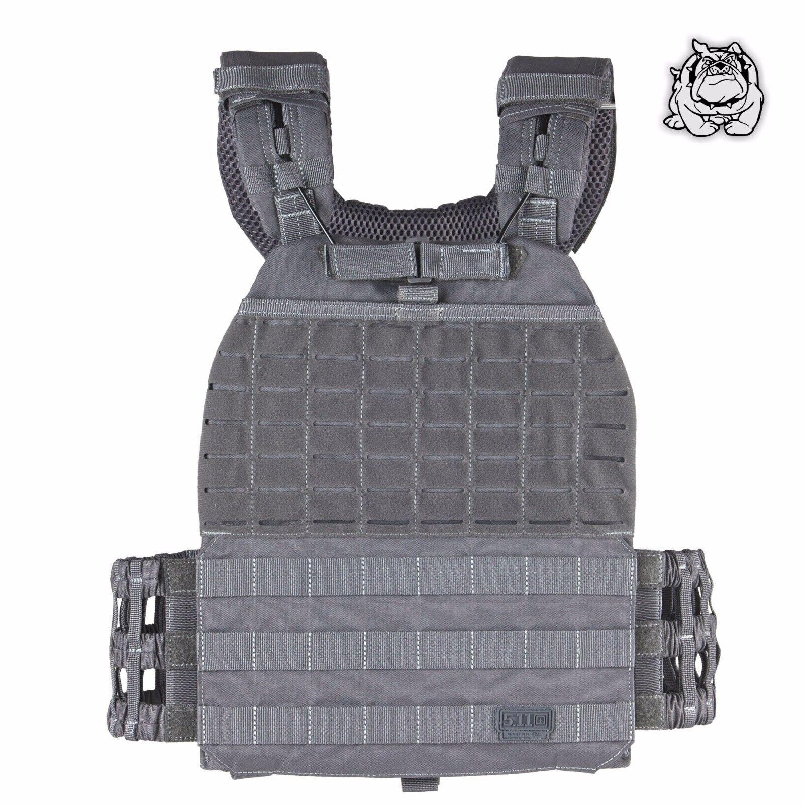 5.11 Tactical Tactec ™ Portador de Placa 56100 Storm 092  Nuevo