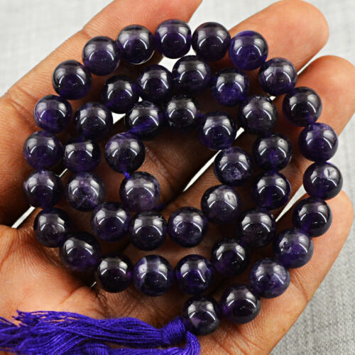 12 Inches Natural Untreated Drilled Purple Amethyst Beads Strand Details about  /120.00 Cts