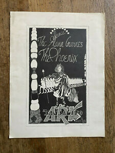 Flamin-039-Groovies-Phoenix-Ark-Sausalito-1968-Concert-Poster-RARE-Psychedelic