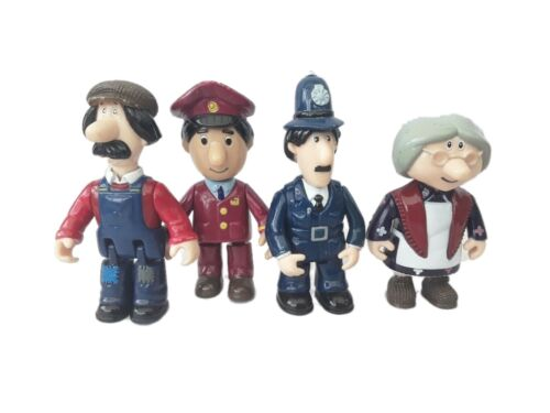 Mrs Goggins Ted Glen Selby Ajay Toy Postman Pat Chunky Figures