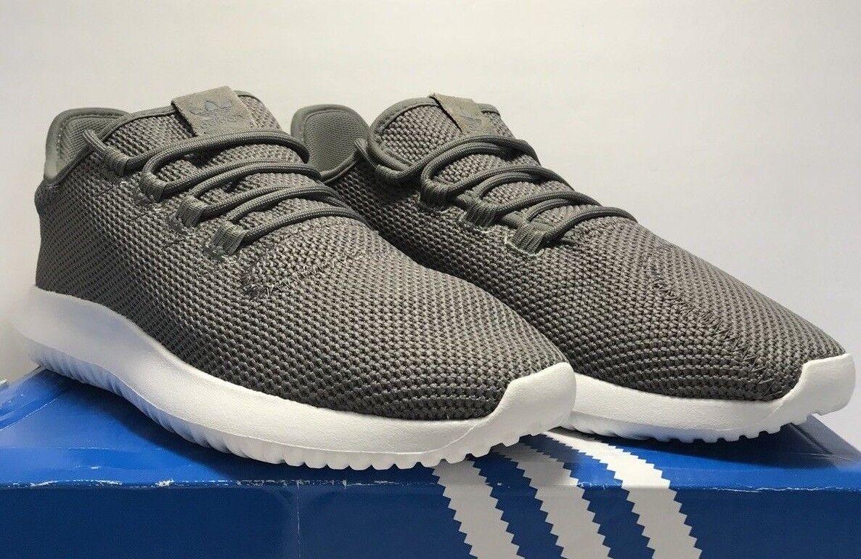 Adidas Mens Size 9.5 Originals Tubular Shadow Grey Athletic Running shoes New