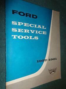 1952-1961-FORD-CAR-amp-TRUCK-SERVICE-TOOLS-BOOK-ORIGINAL-TOOL-LIST-1961-CATALOG