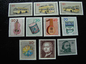 Germany-Berlin-Stamp-Yvert-and-Tellier-N-420-A-429-N-A1-Stamp-Germany
