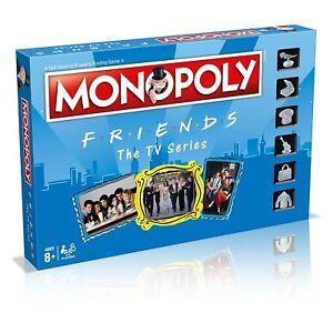 Monopolio-amigos-de-la-serie-de-television-juego-completo-de-tarjeta-Placa-amp-de-Winning-Moves