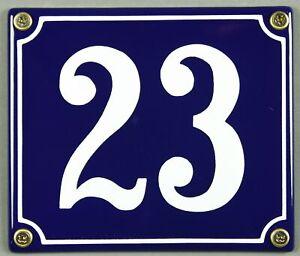 Azul-Esmalte-Numero-de-Casa-034-23-034-14x12cm-Matricula-Envio-Inmediato-Signo