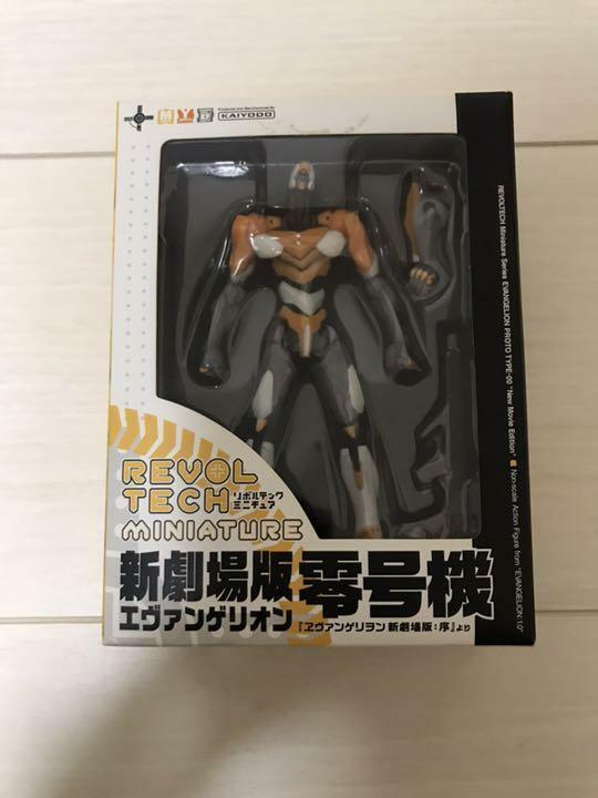Evangelion Figura Revoltech Kaiyodo Anime mercancías EVA-00 Miniatura Muñeca de juguete