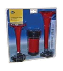 Twin Tone HELLA 003001651 2-Trumpet 12V Air Horn Kit