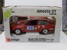 BURAGO ALFA ROMEO ALFETTA CORSA GT 1/24
