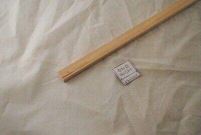 "1//16  x 1//4 x  24/"" Model Lumber Strip Wood Dollhouse Supplies 5pcs Basswood 4026"