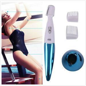La imagen se está cargando Mujer-rasuradora-electrica-bikini-cara-piernas -ceja-trimmer- c2e38d2b7bc1