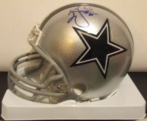 Kevin Williams Autograph Mini Helmet  w/COA - Cowboys