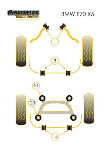 collectivedata.com Powerflex Black Front Radius Arm to Chassis ...
