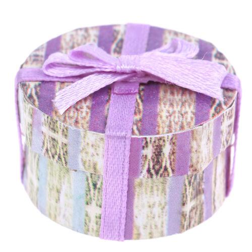 1:12 Bowknot gift box present box for dolls house room garden festival decor