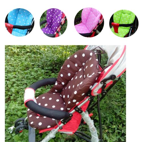 1PC Baby Infant Stroller Seat Pushchair Cushion Air Flow Cotton Mat Dot US STOCK