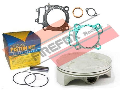 Honda CRF250 R//X 2004 78mm Bore Mitaka Top End Rebuild Kit Inc Piston /& Gaskets