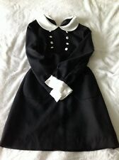 Authentic Vintage Lolita Dress Gothic Babydoll Lolita Adorable Size M Rockabilly