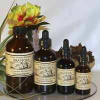 Graviola Tincture Liquid Extract Antiparasitic Immunity Organic Wildharvested