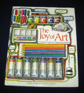 The-Joy-of-Art-by-Serge-Clement-2003-hardback-guide-for-beginning-painters