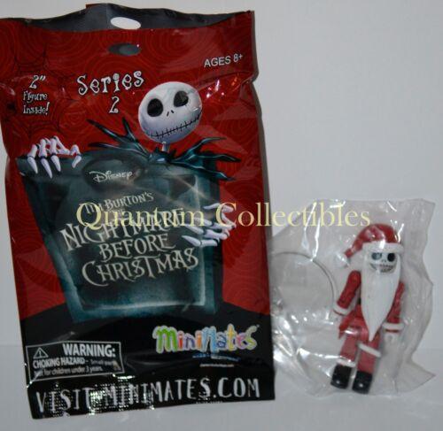 Nightmare Before Christmas Minimates Series 2 one mini-figure Santa Jack
