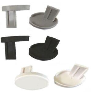 Oval End Base Bar Caps For Roller Holland Blind Bottom