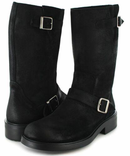 Fashion Schwarz Stahlkappe Stan Boots Stiefel Ohen Engineer rwTrfqZ