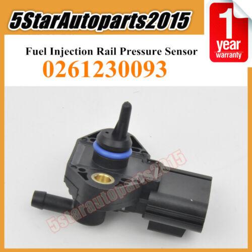 0261230093 Fuel Injection Rail Pressure Sensor for Explorer Lincoln MKZ Mercury
