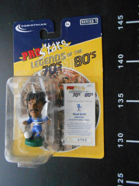 CORINTHIAN HEADLINERS GULLIT Sampdoria Collectors Figure PROSTARS Player
