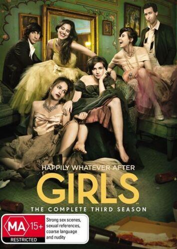 1 of 1 - Girls : Season 3 (DVD, 2014, 2-Disc Set) R4 New, ExRetail Stock (D161)