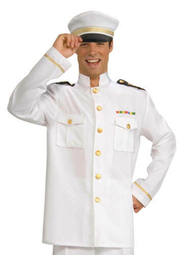 Navy Officer Jacket Adult Costume