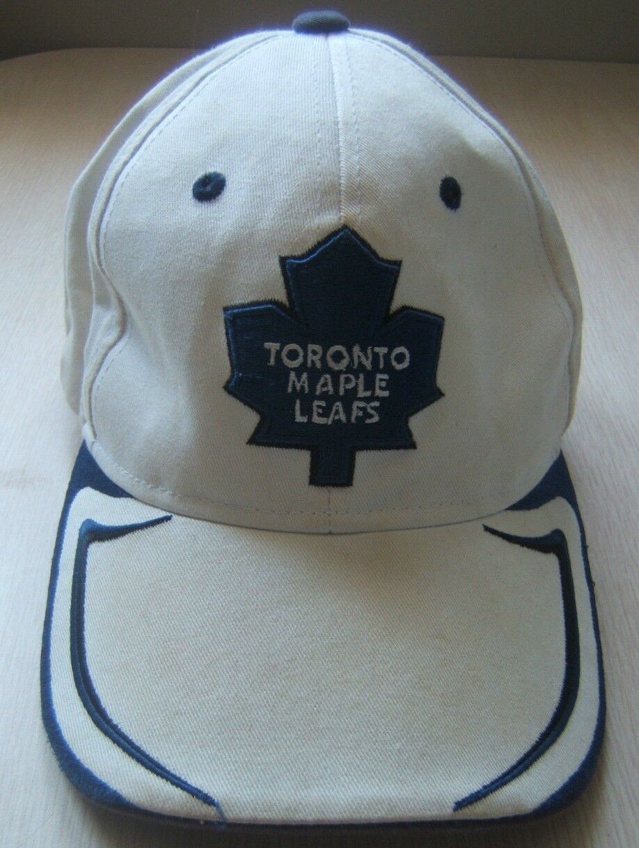 6ed385c093a Trashed Toronto Maple Maple Toronto Leafs NHL Hockey Hat Well Worn Dirty  Reebok Hook Loop Cap