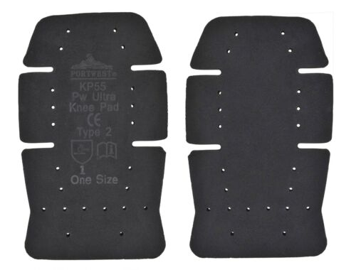 PORTWEST Ultra Knee Pad Foam Flexibility Machine Washable Safety Protection KP55