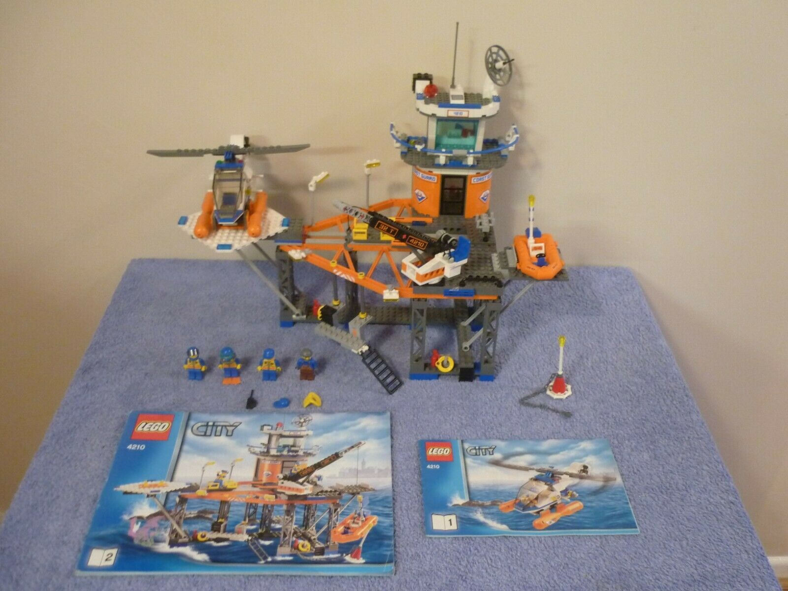 Lego City Guardacostas plataforma (4210)