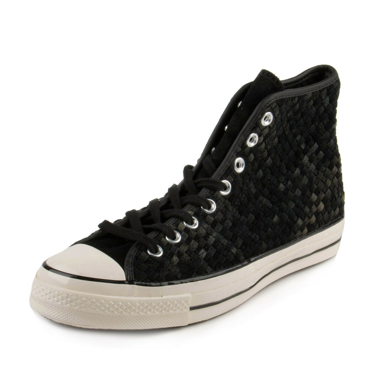 Converse Mens CT AS 70 HI  Black Woven  Black 151244C