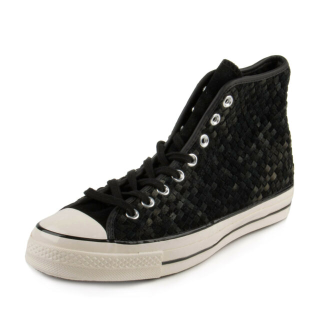 black and white converse mens