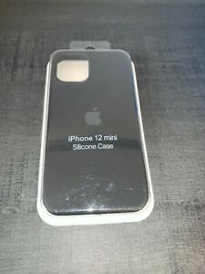 Apple Coque en Silicone pour iPhone 12 mini - Noir