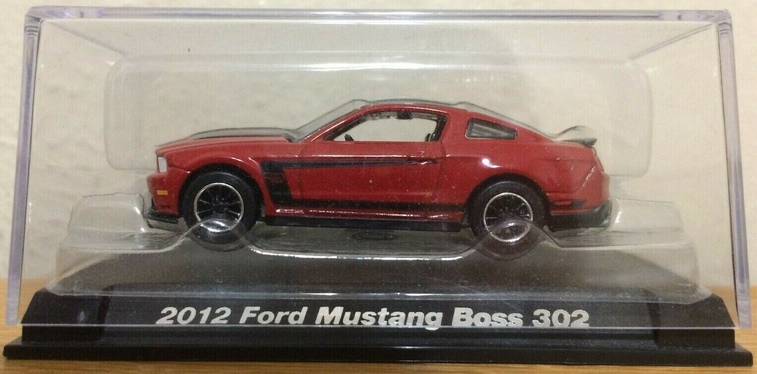 Auto World Ford MUSTANG Boss 351 1971 Grün Poly Hemmings Muskel 64272 B 1//64