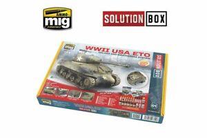 Munitions de Mig A.mig-7700 Wwii Coffret américain Eto