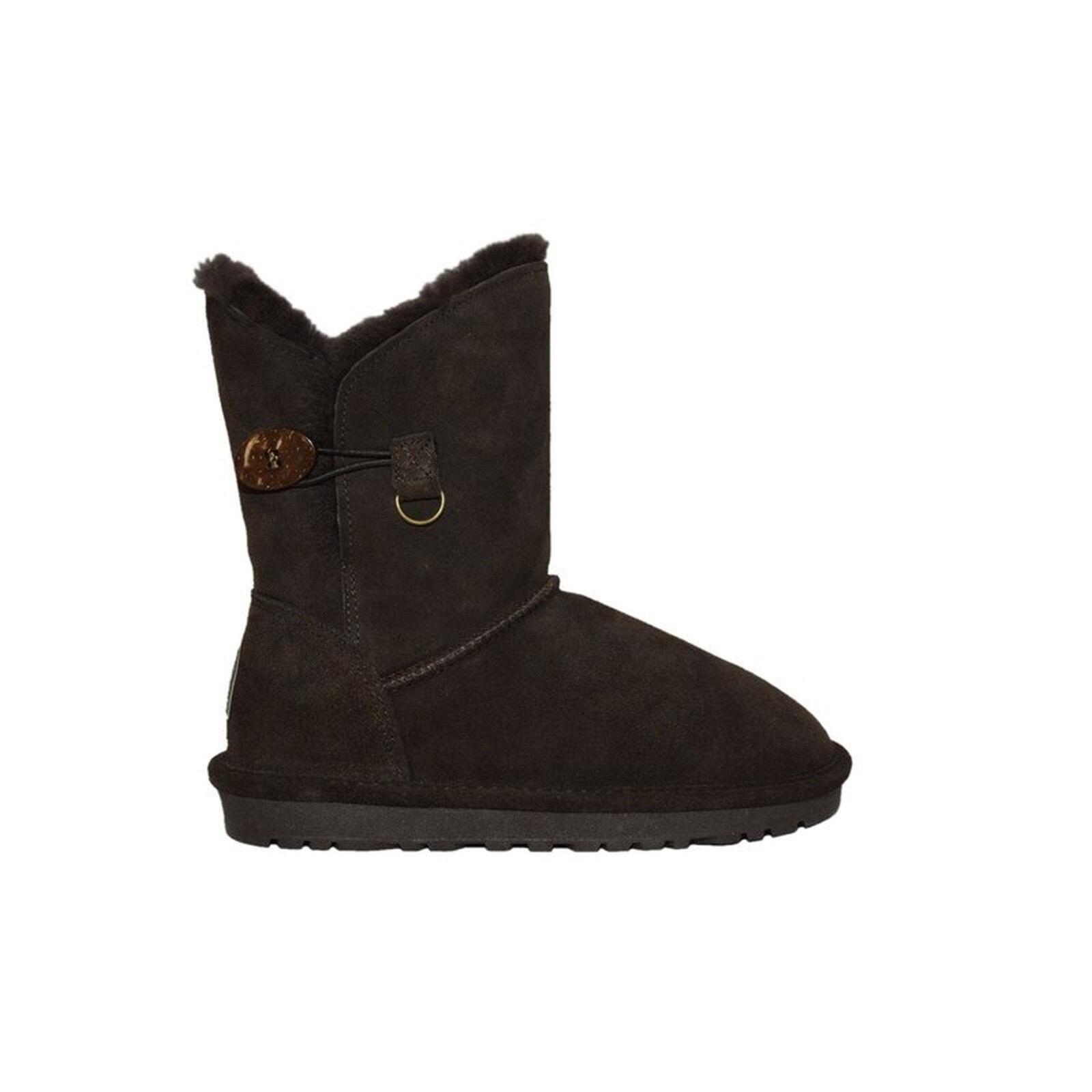 Reisner cordero-botas lara noble serraje pu-suela merino-cordero marrón