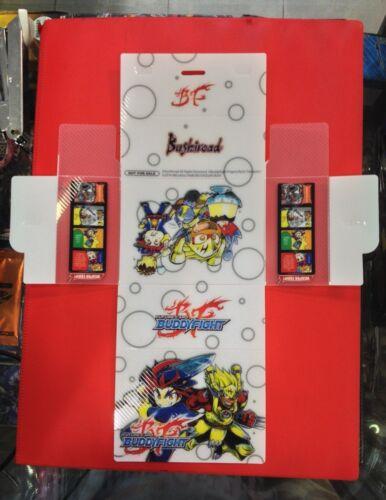 Bushiroad Future Card Buddyfight Gao and Drum Bunker Dragon Deck box Promo