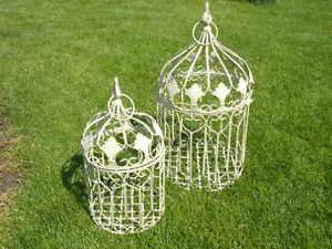 cages-en-fer-forge-patinee-pour-exterieur-ou-interieur-nouveau-lot-de-2-pcs
