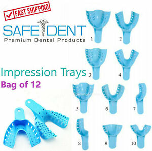 Dental-Perforiert-Kunststoff-Impression-Trays-Autoklav-waehlbar-1-Tuete-12
