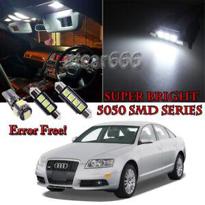 TOOL 21 x Error Free White LED Interior Light Kit For 2002-2008 Audi A4 S4