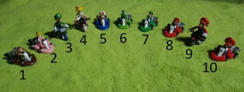 Mario Kart MarioKart Figuren Toy 6cm (Donkey Kong, Yoshi & Co.) 1Stk